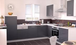 deco cuisine grise décoration cuisine grise et prune 99 marseille cuisine blanche