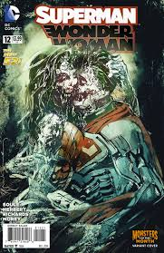 image superman wonder woman vol 1 12 monsters of the month