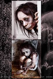 Creepy Makeup Halloween Sfx Makeup Sad Child Sfx Special Effects Specialfx