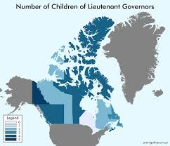 Canada Provinces Map Maps Of Canadian Provinces By Number Of Children And Number Of