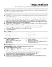 Warehouse Resume Objective Business Resume Objectives Resume Objectives 46 Free Sample