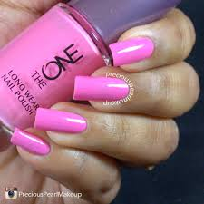 preciouspearlmakeup oriflame the one long wear nail polish in