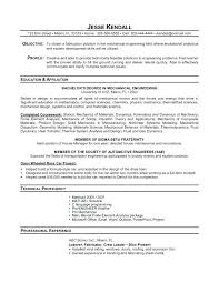 Mechanical Resume Format Pdf Mechanical Engineer Sample Resume U2013 Topshoppingnetwork Com