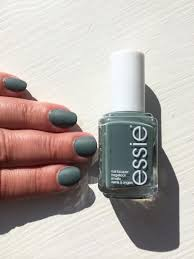 essie fall in line green nail lacquer u0026 nail color essie