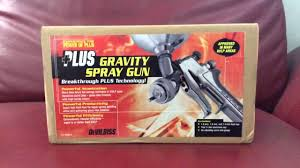devilbiss gfg 670 plus spray gun youtube