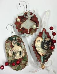 31 best mini tin ornaments images on vintage