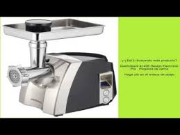 gastroback 41403 design fleischwolf plus gastroback 41406 design electronic pro picadora de carne