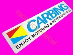si e v o 6 152mm carbing print decal sticker for jdm civic wrx rsx evo eg ek