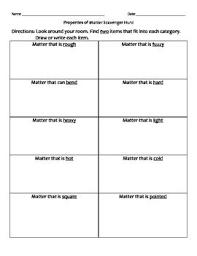 34 best properties of matter images on pinterest teaching