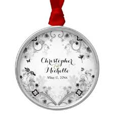 black white butterfly ornaments keepsake ornaments zazzle