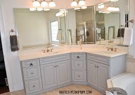 bathroom cabinet paint finish ideas