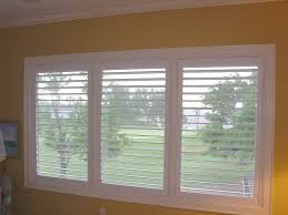 Wooden Plantation Blinds Interesting Modern Plantation Shutters Design Ideas Feature Brown