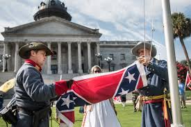 Confeserate Flag Confederate Flag Raised At South Carolina Statehouse In Protest By