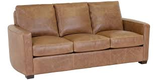 Curved Arm Sofa by Leather Furniture