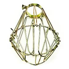 wire light bulb cage light bulb cage polished brass plt sg200
