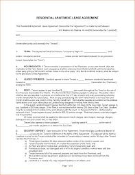 5 apartment lease template printable receipt