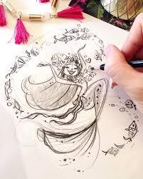 pin by son on liana hee pinterest best mermaid sketch
