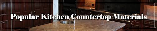 Kitchen Countertop Material by Favorite Kitchen Countertop Materials U2013 Countertops Nj