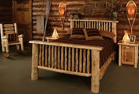 Cabin Bedroom Furniture Montana Bed Rustic Furniture Mall By Timber Creek