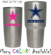 dallas cowboys decals football nfl ebay nfl dallas cowboys decal for yeti tumbler 20 30 ozark trail sticker football