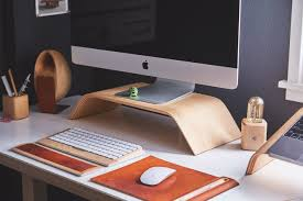 Computer Desk Wallpaper Wood Desk Laptop Office Hd Wallpaper Wallpaper Flare