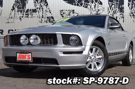 ford mustang 2009 convertible 2009 used ford mustang convertible cali car highly 4 0 l