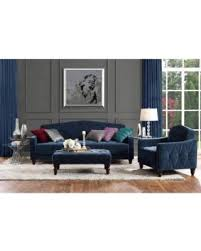 Slash Prices On Novogratz Vintage Tufted Piece Living Room Set - Three piece living room set