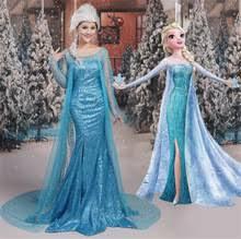 Elsa Halloween Costume Adults Popular Elsa Costume Dress Buy Cheap Elsa Costume