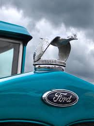 1930 ford coupe flying quail ornament photograph by gill
