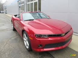 2015 crystal red tintcoat chevrolet camaro lt rs convertible