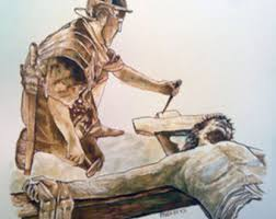 nailed to the cross etsy