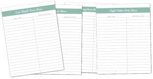 printable recipes free free recipe binder in 3 color options fab n free