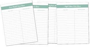free printable recipe pages recipe binder templates daway dabrowa co
