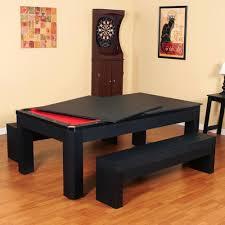 dining room table tennis set carmelli park avenue 7 combo dining pool table plus table tennis