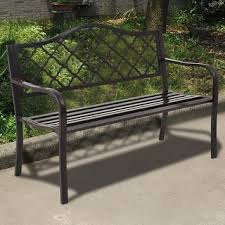 Wood Outdoor Bench Outdoor Benches Shop The Best Deals For Nov 2017 Overstock Com