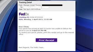 bureau fedex experts warn of scam emails about fedex shipments cbs york