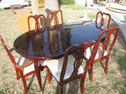 garage table and chairs 122 best garage sale kitchen dining bar images on pinterest