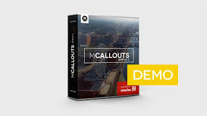demo version of mcallouts simple 2 fcpx plugin stunning and