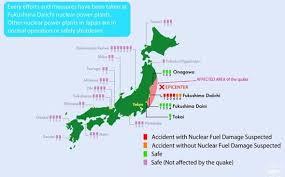 map reveals status of japan u0027s 54 nuclear reactors scientific