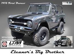 jeep earthroamer zero to 60 designs u0027 custom u002775 ford bronco ford authority