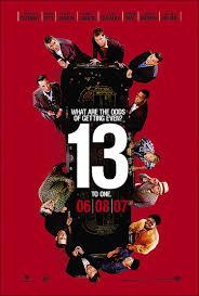 news u0027ocean u0027s thirteen u0027 poster unveiled