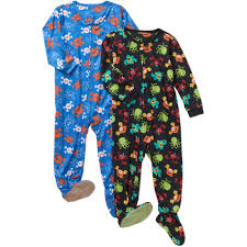 glow in the dark halloween pajamas boys u0027 licensed 4 piece cotton pajama sleepwear set available in