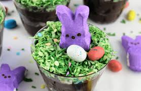 easter bunny easter bunny chocolate dirt cups n lattes