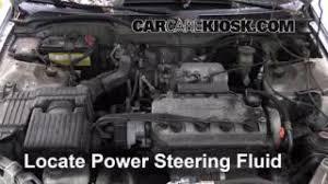 power steering fluid honda civic follow these steps to add power steering fluid to a honda civic