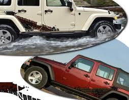 jeep wrangler graphics jeep wrangler unlimited override side graphics kit 2007 2017