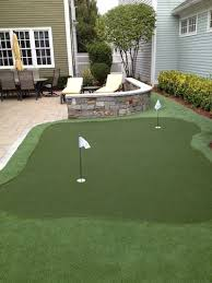 Putting Turf In Backyard Backyard Putting Green Connecticut Massachusetts