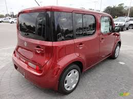 nissan cube 2012 cayenne red 2012 nissan cube 1 8 s exterior photo 61139847