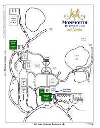 Property Lines Map Grounds Map Monmouth Historic Inn
