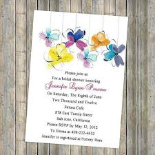 summer wedding invitations unique colorful flower summer bridal shower invitations ewbs014 as