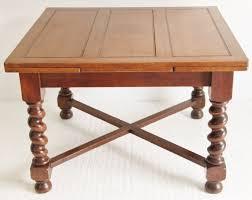 Draw Leaf Dining Table Barley Twist Oak Draw Leaf Dining Table A Solid Oak Draw